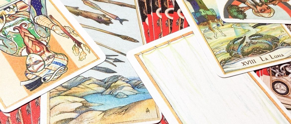 20160825 How to learn Tarot divination 1