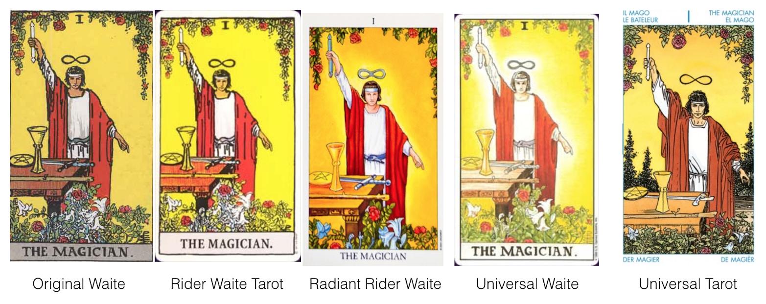 2016120701 Learning Tarot cards
