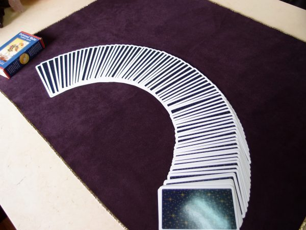 Dark purple Divination tablecloth 01