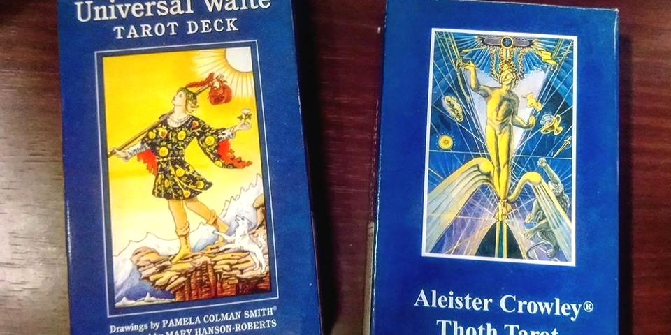 20200701 Waite Tarot and Thoth Tarot course