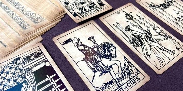 20200713 Tarot of Marseilles Rider Waite Thoth Tarot