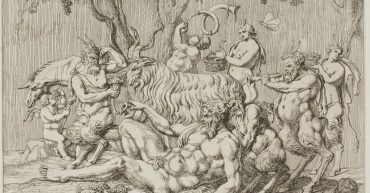 20210127 Silenus Reclining with Goats and Satyrs The Devil Pan by Joy91 Tarot 1