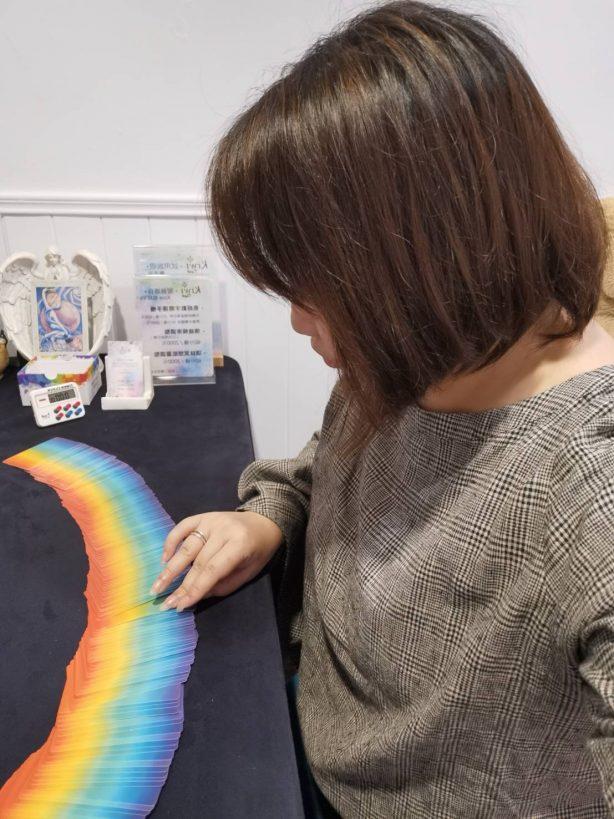 2021051210 Kiwi Tarot Rainbow cards by Killy