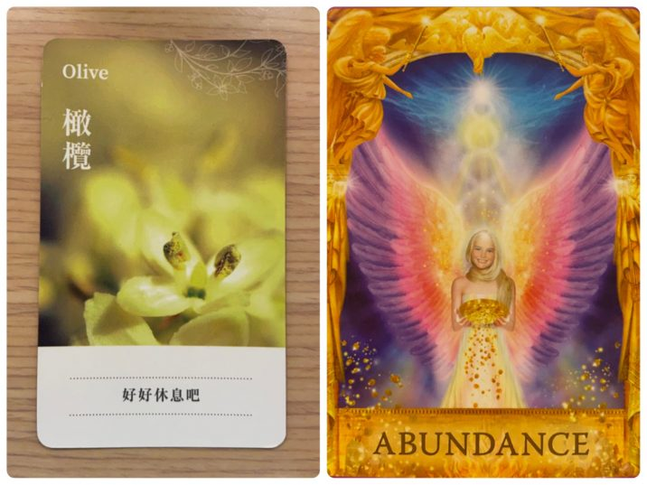 2021060101 Olive & ABUNDANCE Angel Answers Oracle Cards Divination by Luc