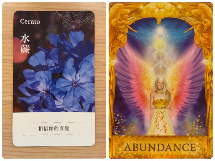 2021092002 Cerato & ABUNDANCE Angel Answers Oracle Cards Divination by Luc
