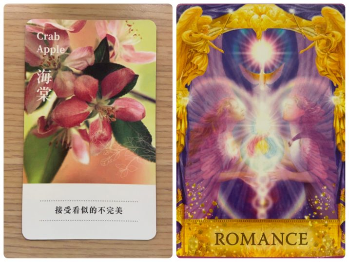 2021100404 Crab Apple & ROMANCE Angel Answers Oracle Cards Divination by Luc